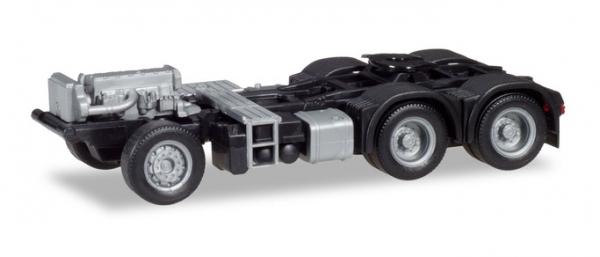 Herpa 084901-1//87 Fahrgestell MB Actros Giga//Big//Stream 6x4 2 Stück
