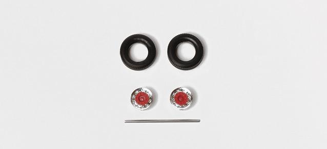 herpa 052016 reifen auflieger h nger chrom rot. Black Bedroom Furniture Sets. Home Design Ideas