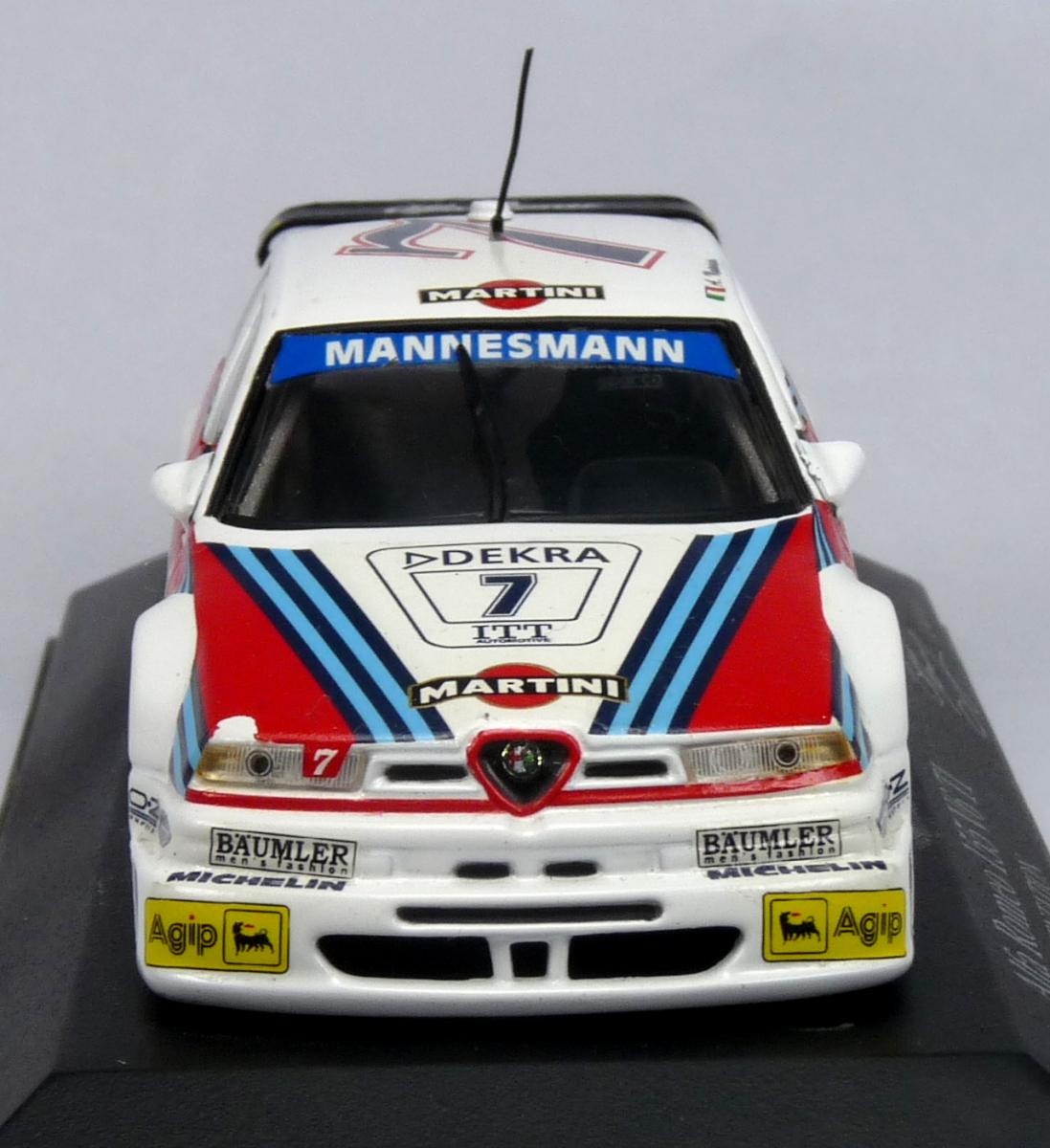 Minichamps Alfa Romeo 155 V6 TI DTM 95 Präsentation A